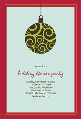 office holiday party invitation